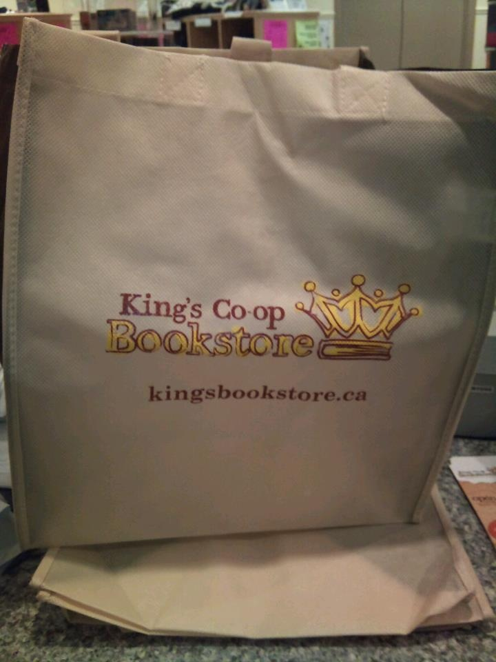 The King's Co-op Bookstore has all kinds of lovely things King's!