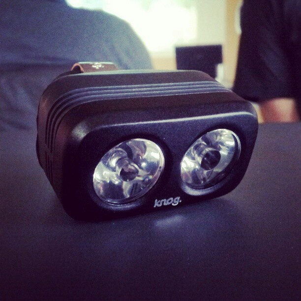 220 lumens. 75g with bracket. Comes with charging cable and helmet mount. More info in a few months. #knog
