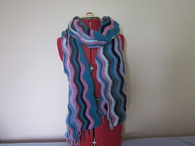 Lovely ripply scarf