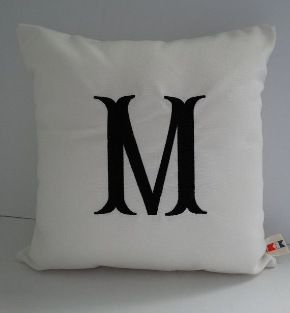 Initial Pillow Covers 52 Best The Sunbrella Monogram Shop Images On Pinterest  Monogram