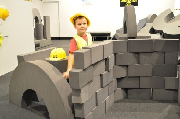 Ipswich Art Gallery for Kids | Construction Site The Review - Brisbane Kids