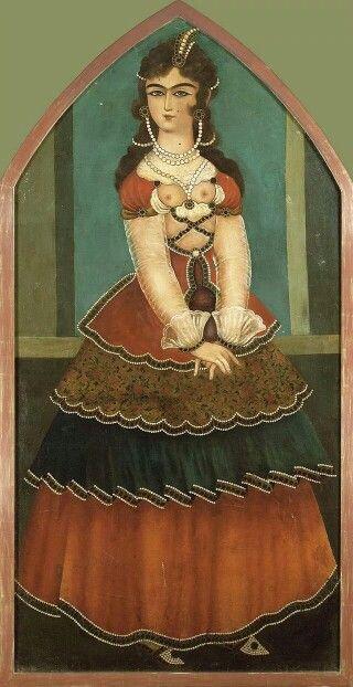 Standing maiden, 19th century