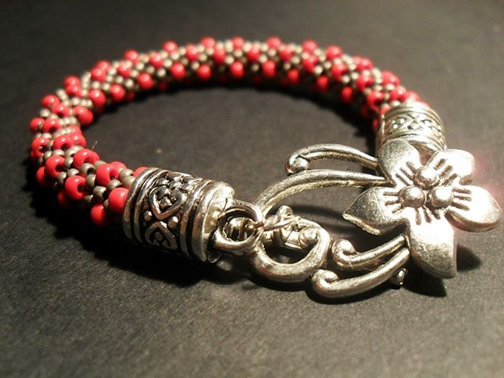 #03 #toho #beads #flower
