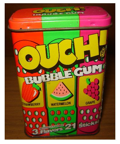 OUCH Bubble Gum