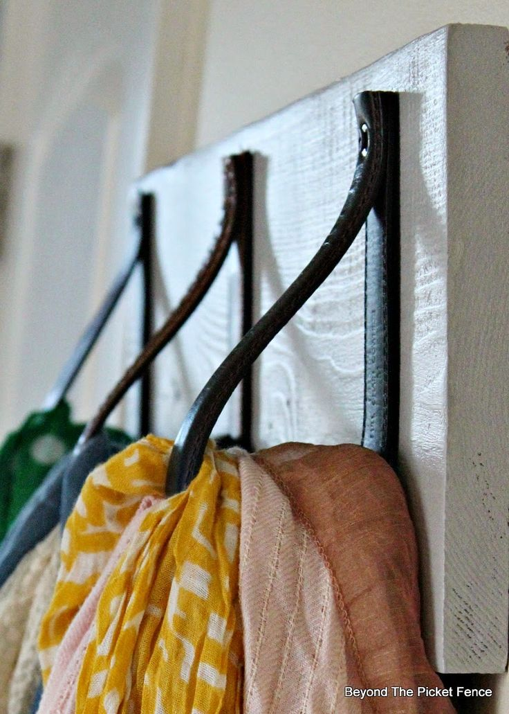 Scarf Hanger in 30 Minutes or Less