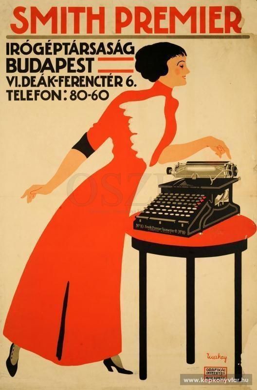 Smith Premier írógéptársaság Budapest ...