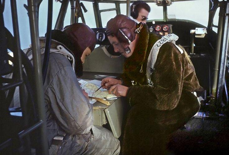 RCAF Navigator training. | by Etiennedup