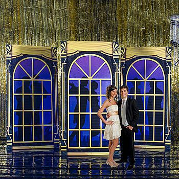 Our Ballroom Window Standees give the illusion that there are ballroom dancers spinning and swaying as you look through the window panes.