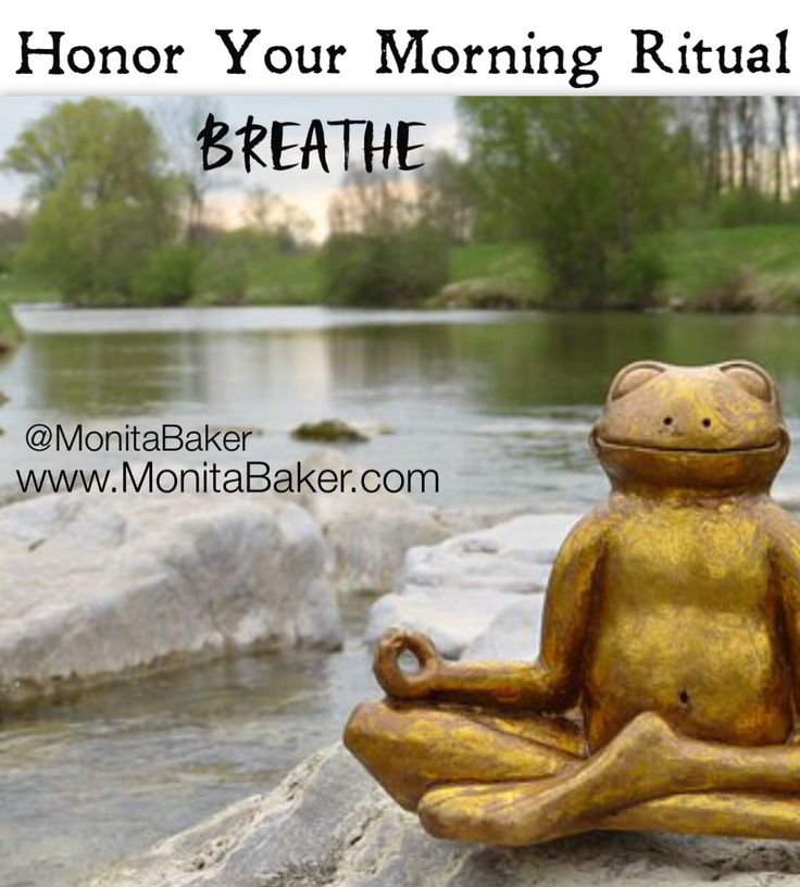 What is your morning ritual? Are you a yoga, tea and #meditation person? a coffee and computer person? or maybe you are a runner? However you begin your day make sure you honor this time. When we take time for ourselves first thing in the morning it sets the tone for the whole day. If you are rushing and stressed take a moment and just #Breathe! You Got This! #happinessisnow #monitabaker#reclaimyourlifewithfengshui #reclaimyourlife#fengshuitip #fallfengshuitip#bossfengshuitips