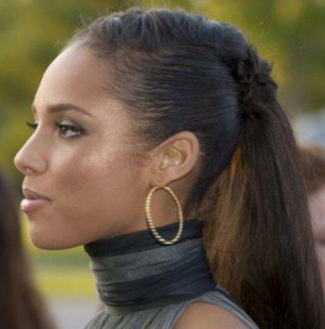 Cool 1000 Ideas About Alicia Keys Braids On Pinterest Braids Ghana Hairstyles For Women Draintrainus
