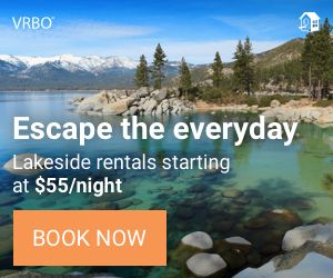 VRBO Lakeside Rental Starting at $55/night Promo Code Explore Nature by Living There