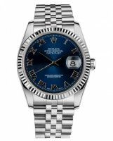 Rolex Datejust 36mm Acier Bleu Cadran Jubilee Bracelet 116234 BLRJ
