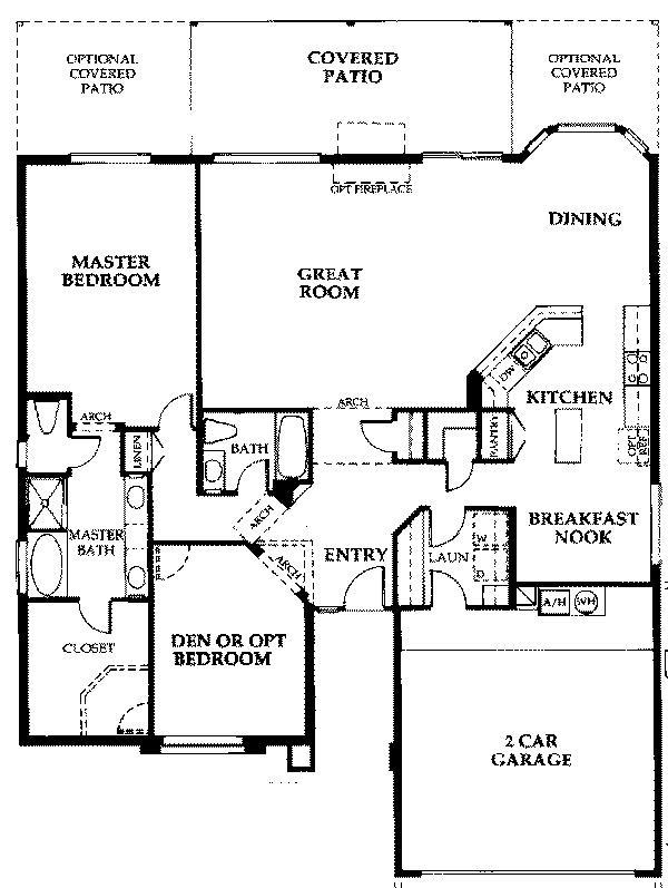 Sun Lakes Az Home Plans House Design Plans