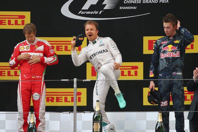 Sebastian Vettel points finger at Daniil Kvyat after F1 Chinese...: Sebastian Vettel points finger at Daniil Kvyat after F1 Chinese GP… #F1