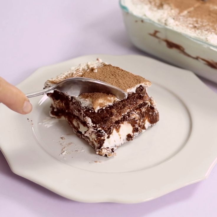 Of all the lasagnas out there, this is the one with Chocolate. This Chocolate Lasagna is a dessert you don't want to miss.