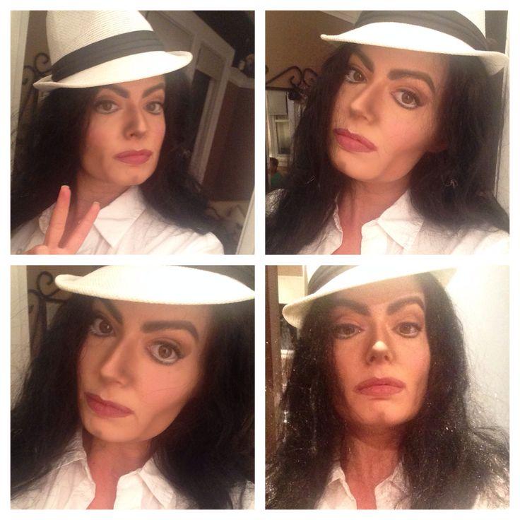 Michael Jackson character makeup