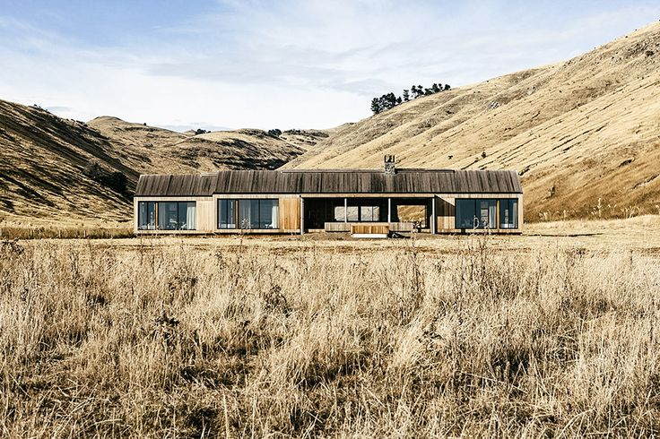 Located on a 4,000-acre farm on Bank Peninsula, the Scrubby Bay House is a…