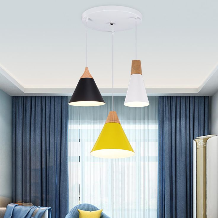 Cheap pendant lighting wood, Buy Quality light wood directly from China hanging lighting fixtures Suppliers: Nordic Modern Colorful Wood Pendant Lamp for Restaurant Bar Dinning Room E27 110V 220V Pendant Lights For Decor