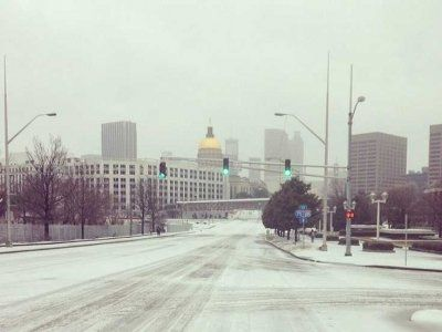Atlanta Ice Storm Photos
