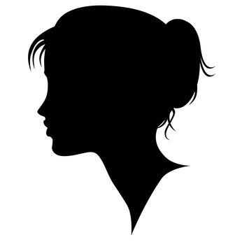 Girl Silhouette | girl-silhouette.jpg | Teenage Enthusiasm