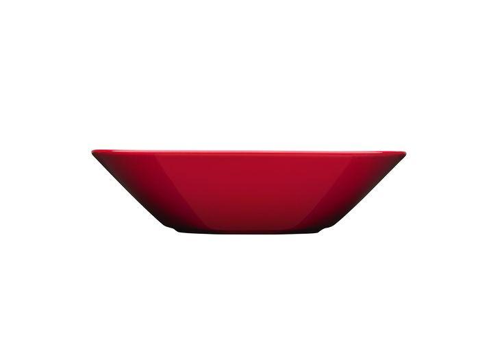 Teema Deep plate 21 cm red Kaj Franck