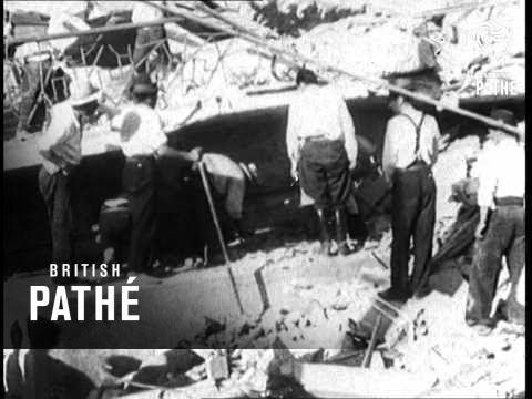 Earthquake In Chile (1939) - YouTube