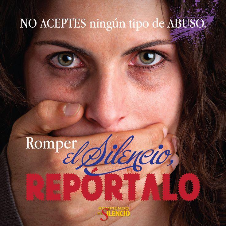 #rompeelsilencio #participa #noalaviolencia