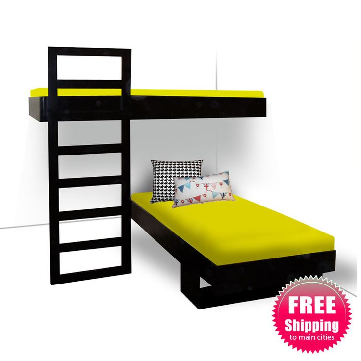 Modern Bunk Beds | Modern floating bunk bed - 9 Best Images About Camarote  On Pinterest - Floating Bunk Beds Show Home Design