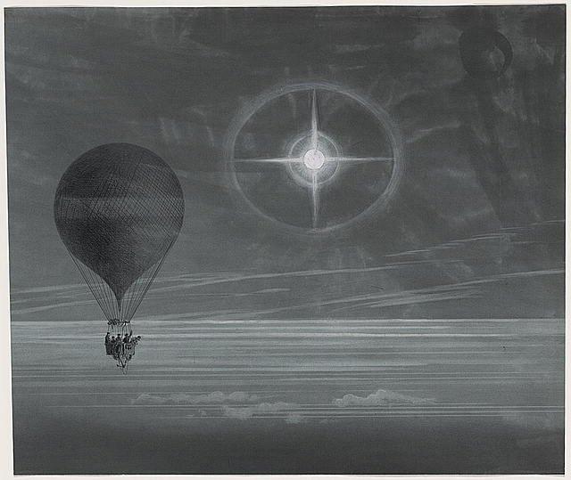 Jules Verne auf Urlaubsreise