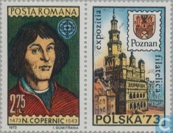 Postage Stamps - Romania [ROU] - Nikolaus Kopernikus