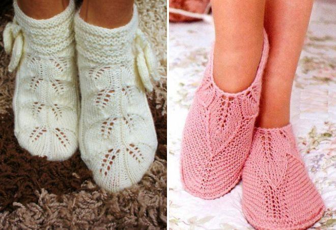 вязаные носки14