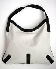 #borsa in bianco e nero...www.bottegabossa.com