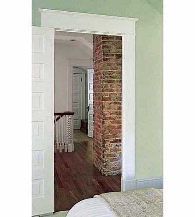 13 Easy Door Surround Profiles From Stock Molding Flats