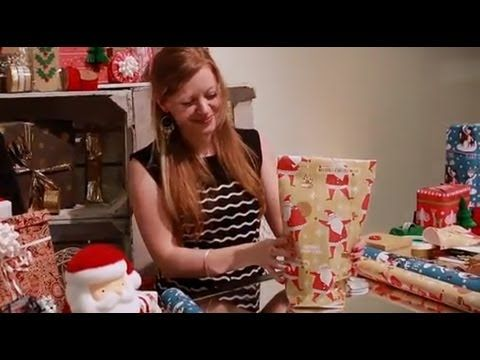 This Trick For Wrapping Odd Shaped Gifts Is Pure GENIUS! | TheFrick