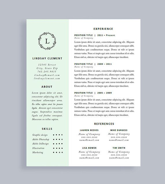 44 best Resume Templates images on Pinterest Cv resume template - resume one page