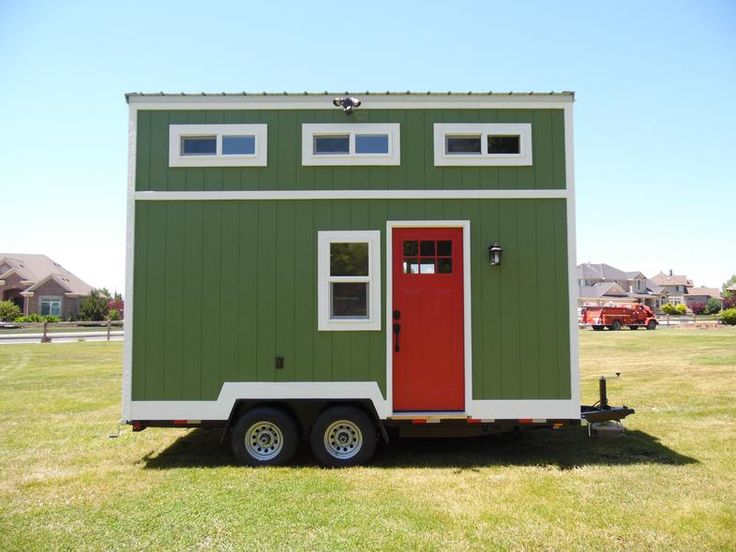 Tiny Homes For Sale and Listed for You to View From Tiny House Builder.  8x16
