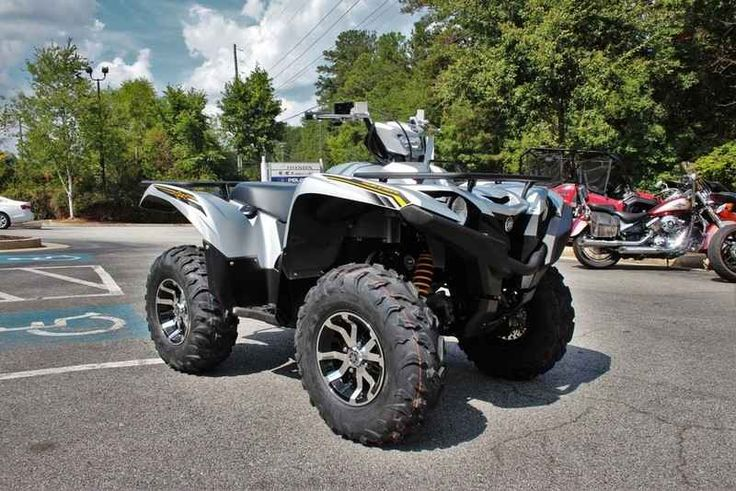 New 2017 Yamaha Grizzly EPS SE ATVs For Sale in Georgia. 2017 Yamaha Grizzly EPS SE, 2017 Yamaha Grizzly EPS TRAIL TESTED TOUGH Grizzly EPS is the best-selling big-bore utility ATV ready to tackle tough trails with superior style and comfort. Features may include: High-Tech Engine Designed For Aggressive Trail Riding The Grizzly® EPS features a powerful DOHC, 708cc, 4-valve, fuel-injected engine with optimized torque, power delivery and engine character for aggressive recreational riding…