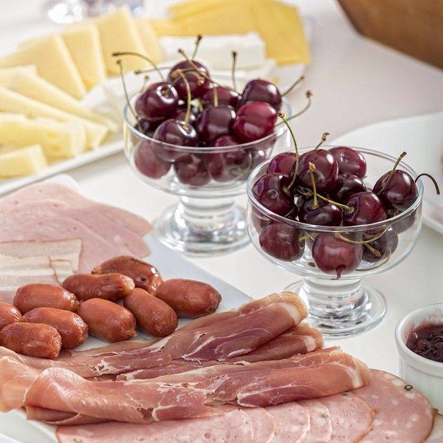 A #breakfast full of proteins, #energy and #vitamins! #KallistiThera #Santorini