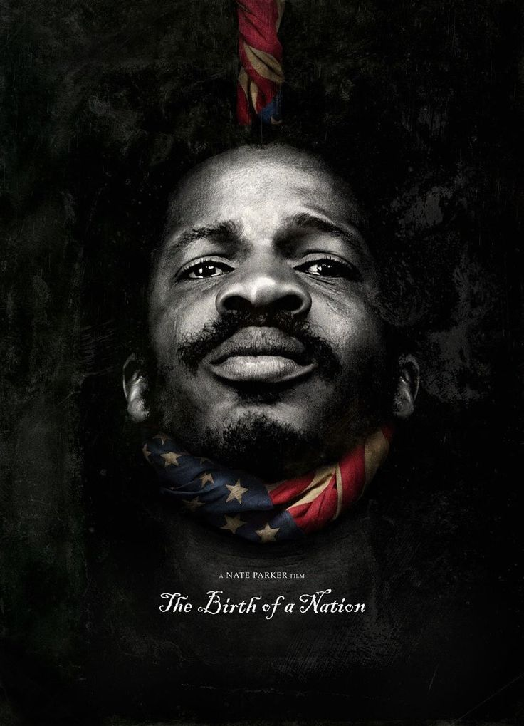 The powerful new poster for first-time filmmaker Nate Parker's The Birth of a Nation, which debuted on Tidal, shows his character Nat Turner being hung by an American flag noose. The Beyond the Lig…