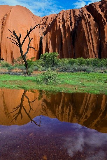 Reflection of Uluru, NT, Australia  #City_Edge_Apartment_Hotels   #Cityedge    http://www.cityedge.com.au