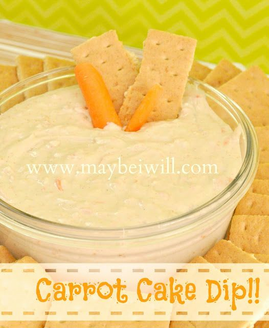 This is the best Carrot Cake Dip!!! AMAZING!!! #dessert #dip #carrotcake