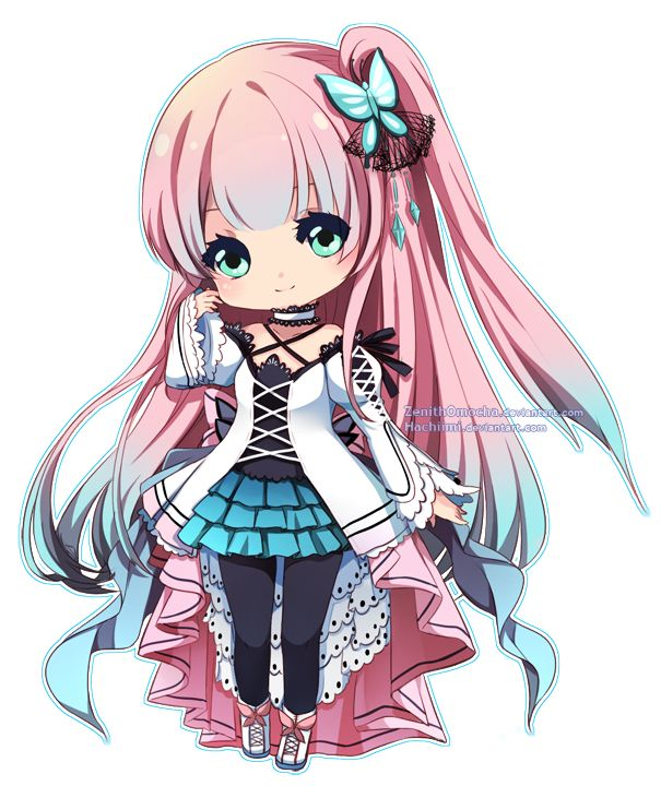 Anime Girl Chibi: 509 Best Images About Chibi Anime On Pinterest