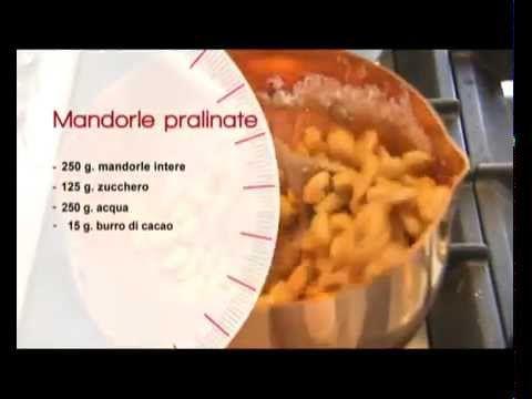 ACCADEMIA MONTERSINO                        Mandorle pralinate di Luca Montersino
