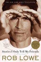 Hunk alert. Worth reading, but just for stories about young Charlie Sheen and the Brat Pack. Easy on the eyes: yes. Insightful writer: no.