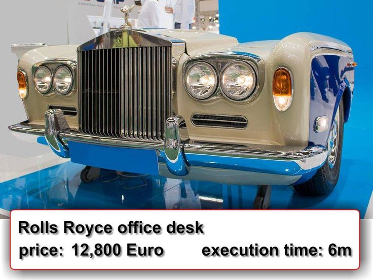 Rolls Royce office desk