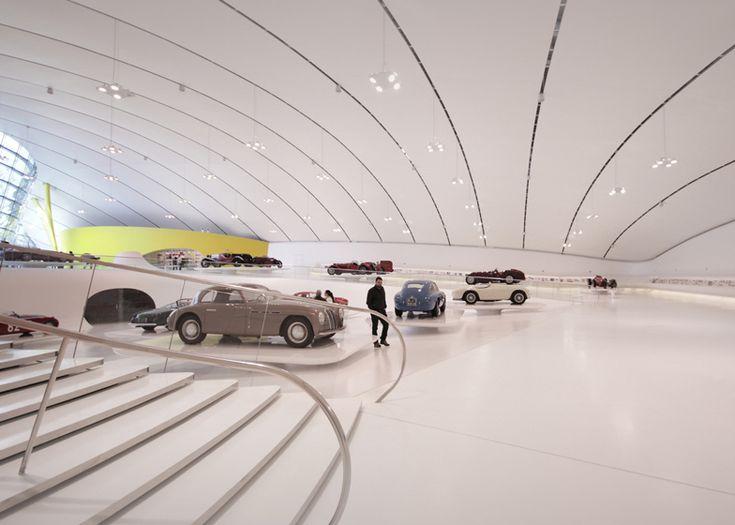 Dezeen » Blog Archive » Enzo Ferrari Museum by Future Systems