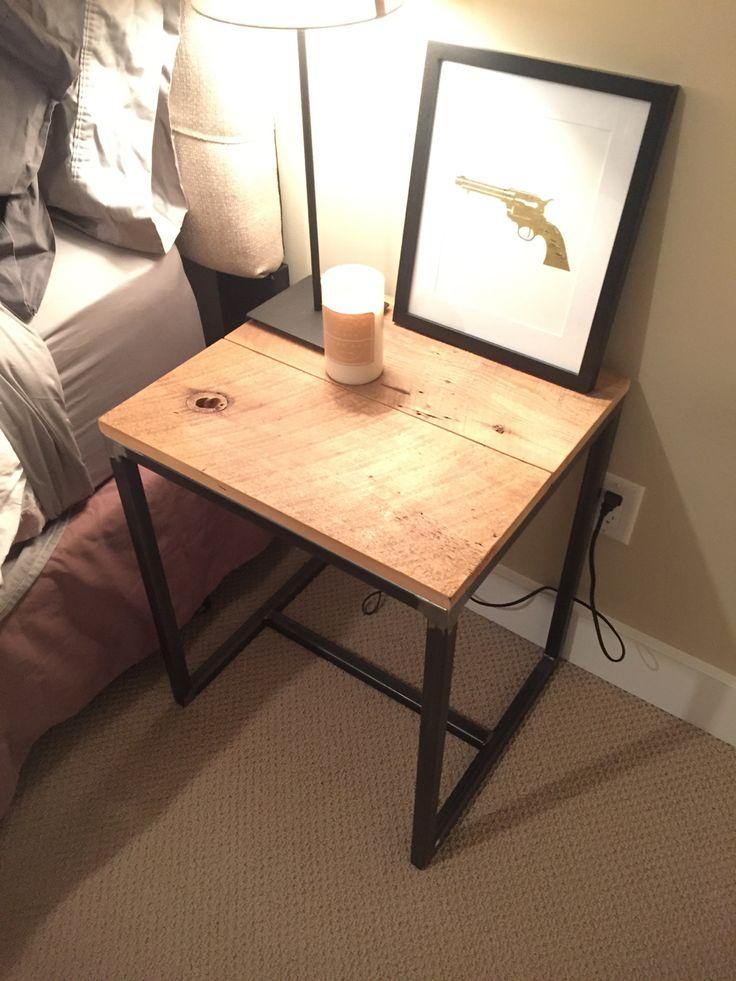 Reclaimed bedside tables