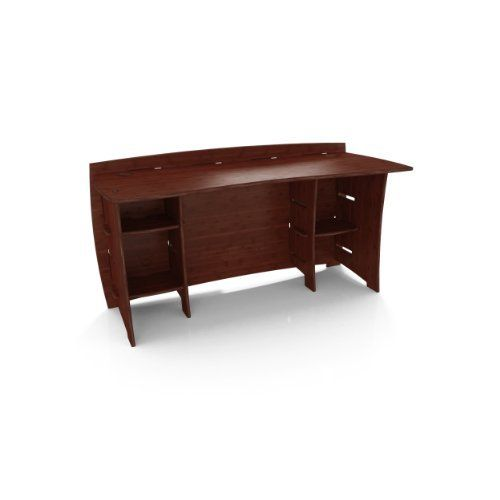 Legare 60-Inch Straight Desk with 12-Inch Shelves, Espresso Bamboo by Legare. $371.05. Additional modular legare peninsulas, bridges or extensions can be added for limitless workspace configurations. Manufactured from highly sustainable, organically grown bamboo from china, inherently known for its perfect color, grain, density and strength. All pieces are finished on all sides and edges so the desk can be assembled for either right-hand or left-hand configuration. Laminated usi...