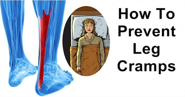 This Why Your Legs Cramp At Night And How To Stop It From Happening Ever Again - These might work for you.