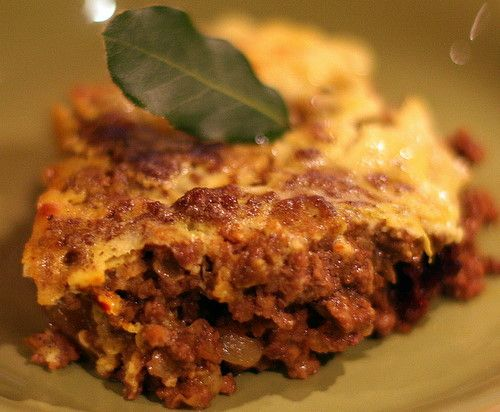 Bobotie (South African Curried Beef and Lamb Casserole)